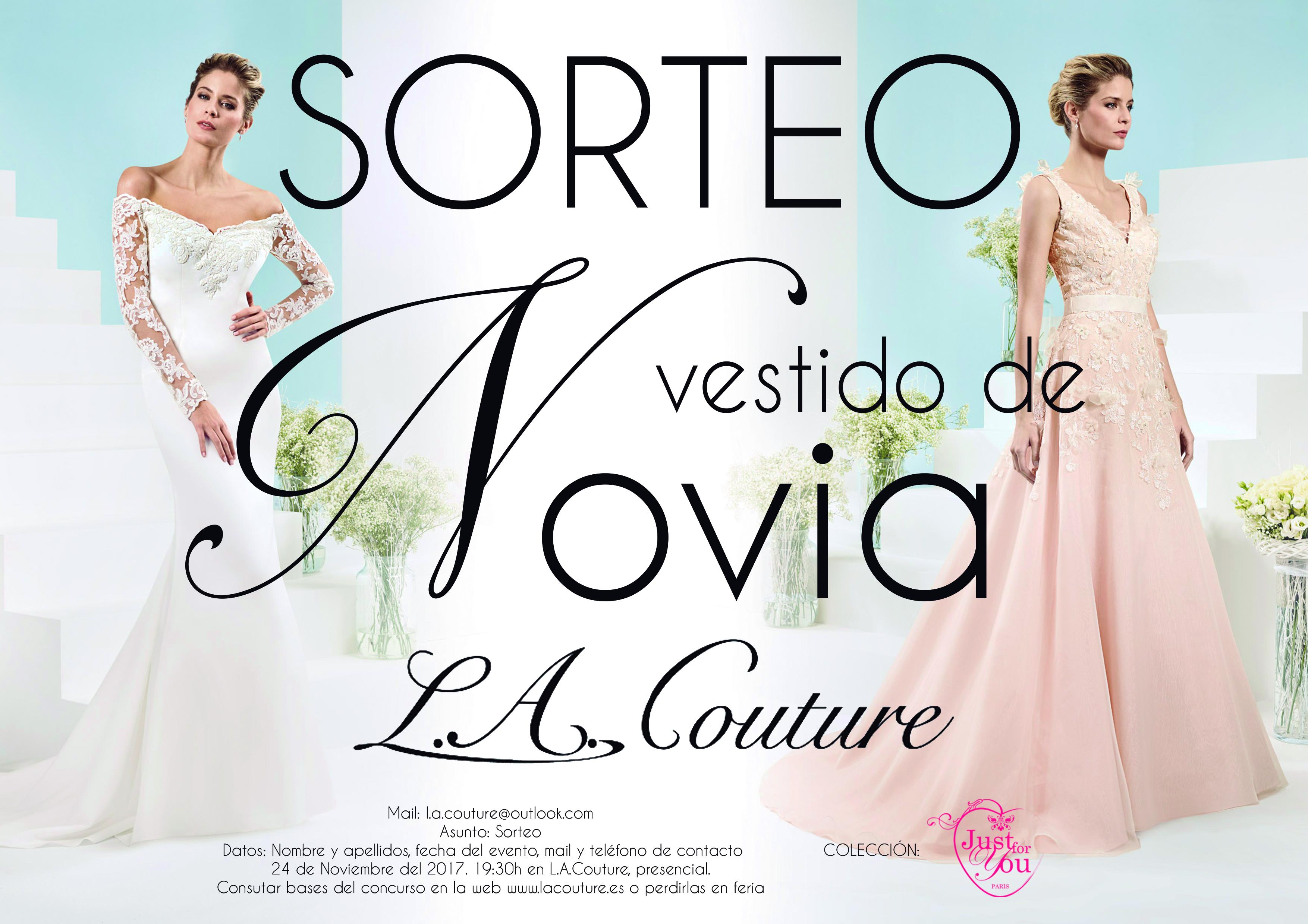 Consigue tu vestido de novia Gratis con L.A. Couture | Regalo | L.A. ...